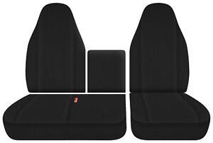 fits Isuzu N series trucks  npr nrr  front seat covers 40-60 +Console   #39 CO26