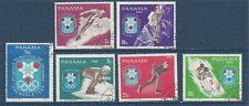 PANAMA - 484 - 484E - USED - 1968 - GRENOBLE OLYMPICS