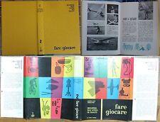 Fare giocare enciclopedia delle attività del ragazzo 1962 Volpi-Biggi,scacchi #g