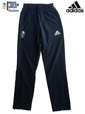 "ADIDAS TEAM GB RIO 2016 ELITE ATHLETE OLYMPIC PRESENTATION PANTS Size 46""L"