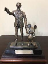 Cast Member  Partners in Excellence Award Statue Bronze-Walt Disney  Mickey