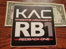 Knights Armament KAC NVG RB1 authentic sticker NEW