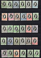 1953. Fine used QEII Coronation Omnibus set. 106 stamps. See notes.1953.