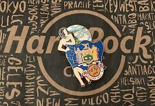 Hard Rock Cafe HRC NIAGARA FALLS NY LANDMARK FLAG GIRL Lapel Pin Limited Edition