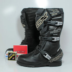 TCX X-Desert GTX Motorcycle Enduro Touring Boots Black Men's EU 40 US 7 7153G