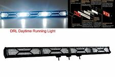 "X-Series 40"" OZ-USA® Double Row LED Light Bar Spot Beam Diffused Lens Cover DRL"