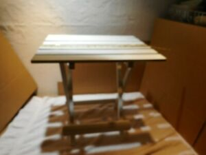 """Wooden Folding Plant Stand ~ Holds 1 LARGE Plant~ Multipurpose 18"""" x 14"""""""
