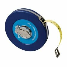 Silverline Surveyors 30m Tape Measure Steel 30 Metre Metric Imperial MT42