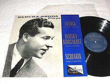 """Badura-Skoda """"Franck; Rimsky-Korsakoff; Scriabin"""" 1950's LP,Nice NM!, #XWN-18521"""