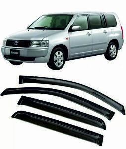 For TOYOTA Probox СР50 02-14 Window Visors Sun Rain Guard Vent Deflectors Shades