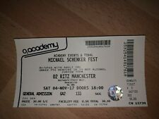 Michael Schenker  Fest - Standing Ticket - O2 Ritz Manchester - Sat 4th Nov 2017