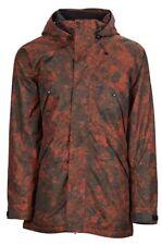 Bonfire Static Snowboard Jacket - Burgundy Granite - Large, Ski - RRP £210 Red