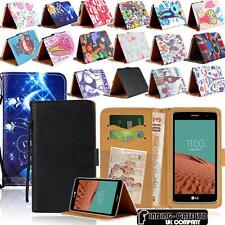 For LG G2/G3/G4/G5/GX SmartPhone Flip Wallet Card Stand Leather Case Cover+Strap
