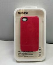 ncase Crystal Slider Case + Stand Apple iPhone 4 & 4S Pink Raspberry Glitter