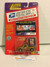 Johnny Lightning * GMC Syclone Truck w/USPS Stamp w/History * GOLD *Y40