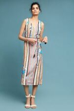 NWT - ANTHROPOLOGIE - 5X by AJIT KUMAR - Painterly Maxi Dress 2 (Novelty) $228