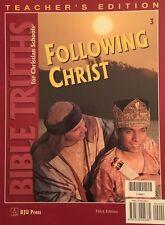BJU Bible Truths 3 Teacher's Edition Third Edition - 3rd Grade