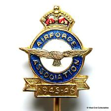1945-46 WW2 Air Force Association Stick Brooch Badge - Royal Air Force RAFA RAAF