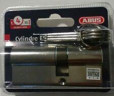 Cylindre Nickelé E5 pour Serrure - 30 x 40 mm Abus