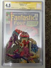 Fantastic Four #36 CGC SS 4.5 Signed by Stan Lee 4/15/17 1st App Frightful Four