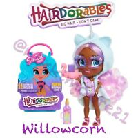 New Hairdorables Series 4 Doll WILLOWCORN  🦄  Scented + Case M.SEALED