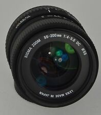 Sigma Zoom 55-200mm f/4-5.6 DC für Nikon F-Bajonett