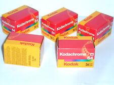 5 Kodachrome 64 Diafilme
