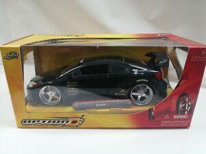 Jada Option D 1/24 SCION tC Black replica model modified street racer car