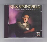 (CD) RICK SPRINGFIELD - Success Hasn't Spoiled Me Yet / Germany Imort / PD84125