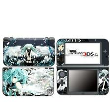 New Miku 3 vinyl Decal Sticker Case Cover For Nintendo NEW 3DS XL LL Skins