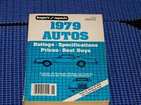 NEW CARS 1979 BUYERS GUIDE REPORT **SALE**