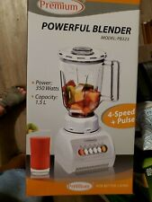 Premium PB323 Powerful 350 Watt 4 Speed Blender
