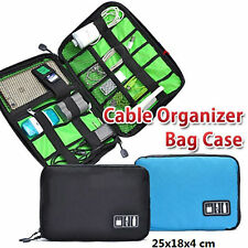 Electronic Accessories Cable USB Drive Organizer Bag Portable Travel Case