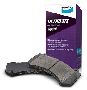 Bendix Ultimate Brake Pad Set Front DB1491 ULT fits Toyota 86 GT, GTS