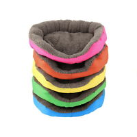 5 Colors Soft Pet Dog Puppy Cat Cozy Warm Nest Bed House with Plush Mat Pad AW