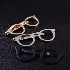 Clip Men Gold Jewelry Clasp Pocket Clip Alloy Tie Clips Glasses Shape