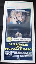 Locandina-La ragazza dal pigiama giallo di Flavio Mogherini, con D. Di Lazzaro