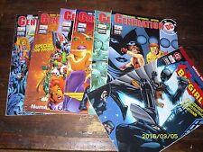 Lot comics complet Génération DC Semic