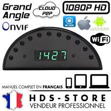 RVLIP1 RÉVEIL CAMÉRA ESPION IP WIFI FULL HD 1080P 256 GO MAX VISION NOCTURNE P2P