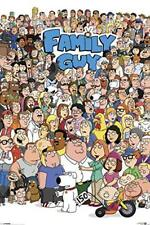 Family Guy-personaje Póster collage 24x36-TV 2623