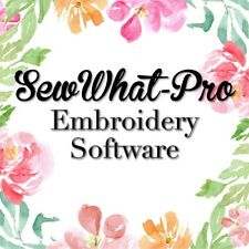 SewWhat-Pro Software Embroidery Machine Editor For Windows & Mac