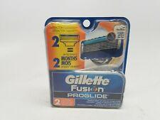 Gillette Fusion ProGlide Razor Blade Refill Cartridges, 2 count