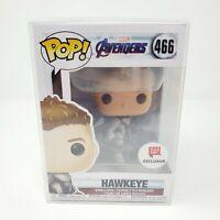 Funko Pop Avengers Endgame Hawkeye #466 Walgreens Exclusive Pop Protector