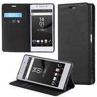 Funda-s Carcasa-s para Sony Xperia Z5 Premium Libro Wallet Case-s bolsa Cover Ne