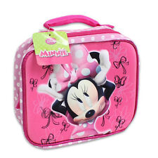 Lunch Bag Insulated Pop Out 3D Disney Minnie Mouse Pink New