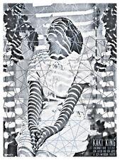 Kaki King September 2011 Limited Edition Gig Poster
