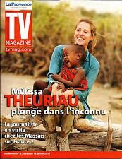 TV MAGAZINE N°21596 COV.2 12 JANVIER 2014  MELISSA THEURIAU/ SERIES TV/ DASSAULT