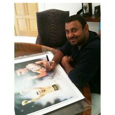 Naseem Hamed Signed Print - Last 6 Remaining By Patrick J Killian