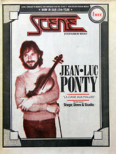 Jean-Luc Ponty Vintage Press, Media Clippings, Magazines Collection
