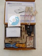 Netopia ADSL USB Modem 2241N-006 2241N VGX High Speed Internet Cable AC Adapter